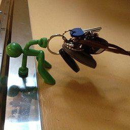 Key Pete Strong Magnetic Key Holder Hook Keys Magnet   Green (Green)