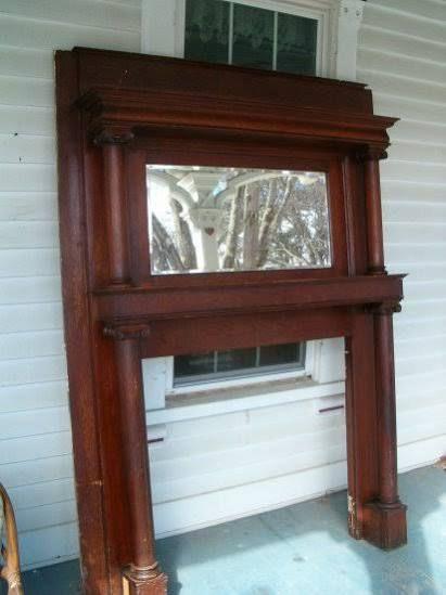 Attraktiv Antique Victorian Fireplace Mantels Handwerker Kaminsims, Kamin Spiegel,  Kamin Umgestalten, Kamin Umgibt,