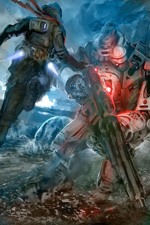 Titanfall fan art by W-E-Z from DeviantART