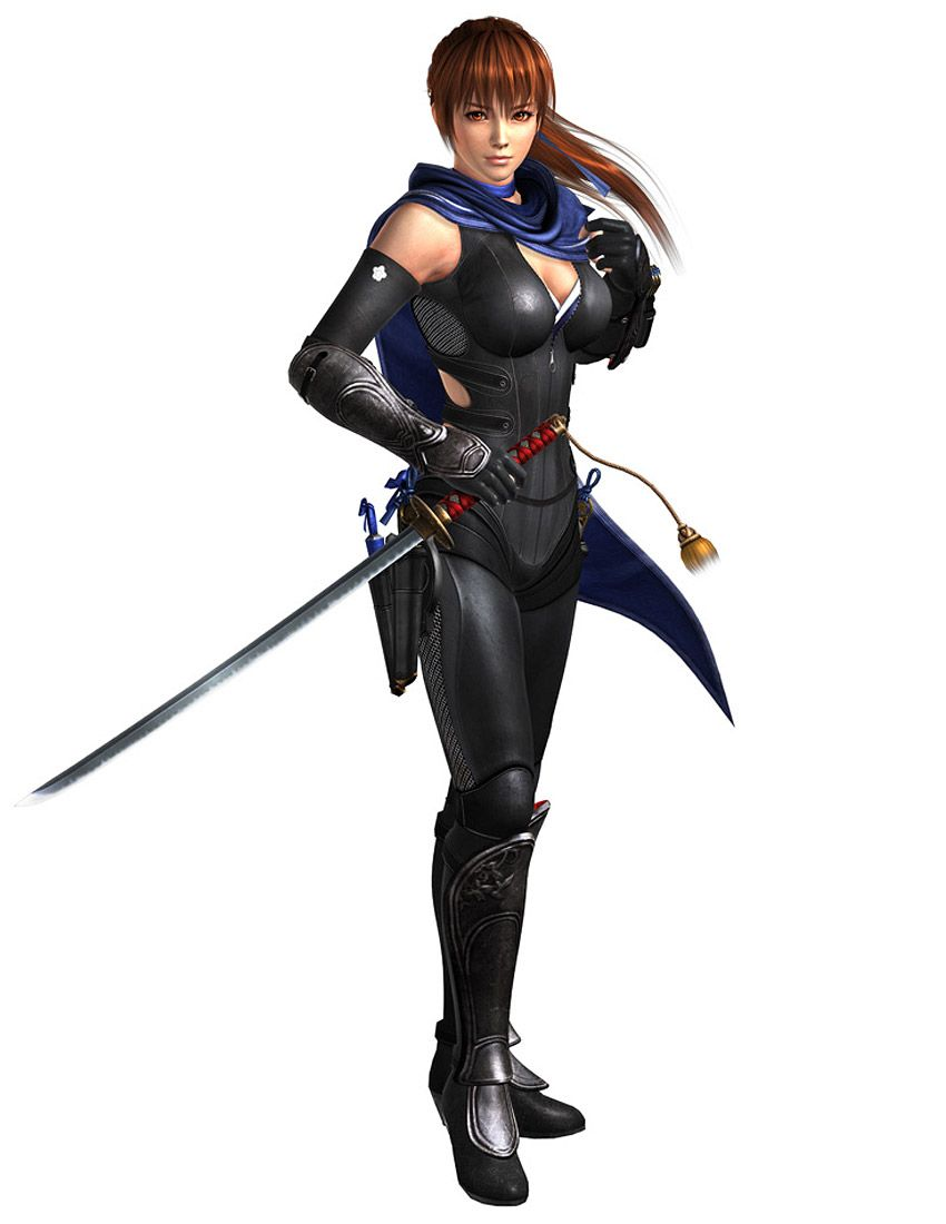 Kasumi Ninja Gaiden 3 Razor S Edge Personajes De Naruto