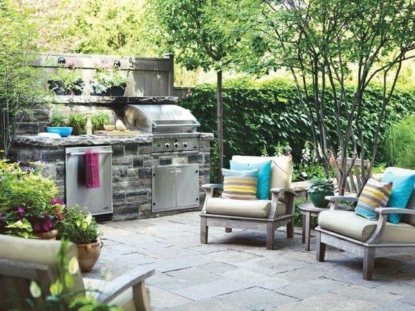 Outdoorküche Möbel Günstig : Outdoor küche und garten lounge geplant? hier sind einige schicke