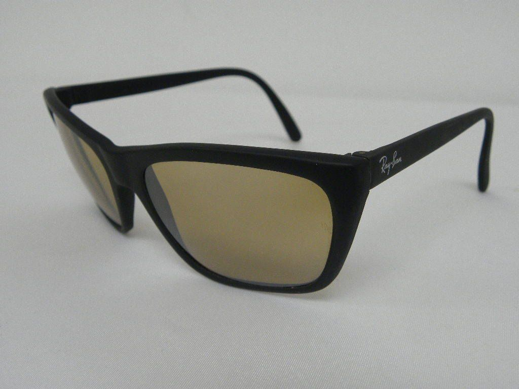 5d34256535a New Vintage B L Ray Ban Cats 3000 Matte Black RB-50 General W0637 USA NOS