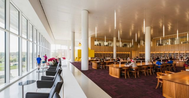 2014 Library Interior Design Award   Library Interior Design Awards |  Project Title: James B