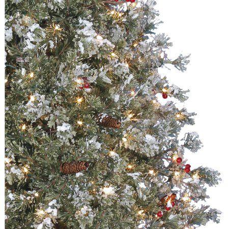 Holiday Time Pre Lit 7 5 Covington Fir Artificial Christmas Tree Clear Lights Walmart Com Lowes Christmas Trees Christmas Tree Artificial Christmas Tree