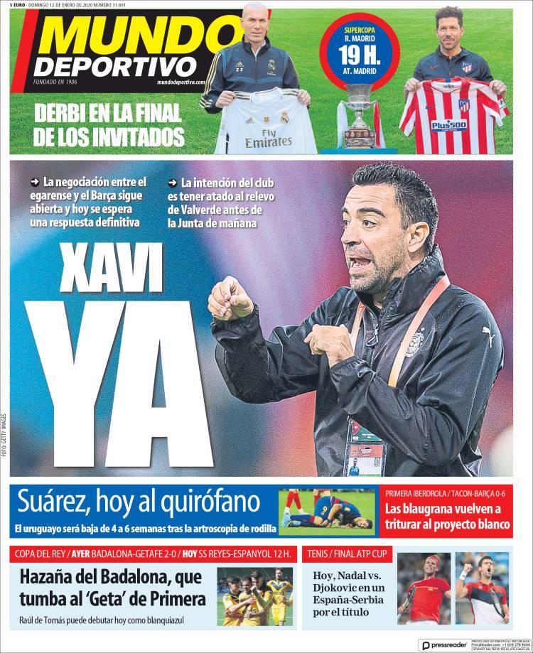 20200112 Periódico El Mundo Deportivo (España