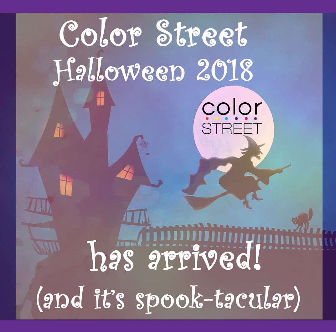 Color Street Halloween 2018 Nail Polish Strips will be ...