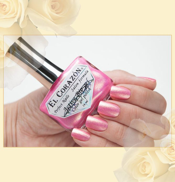 EL Corazon Active Bio-gel Color gel polish Magic | El corazon ...