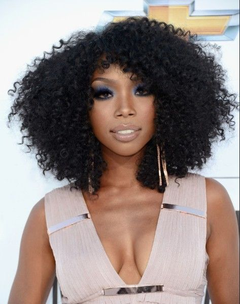 Brandy Hairstyles | Natural Hair Styles | Pinterest | Curly ...