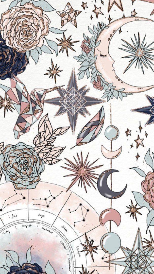 iPhone Bildschirmsperre Hintergrundbilder #textiledesign