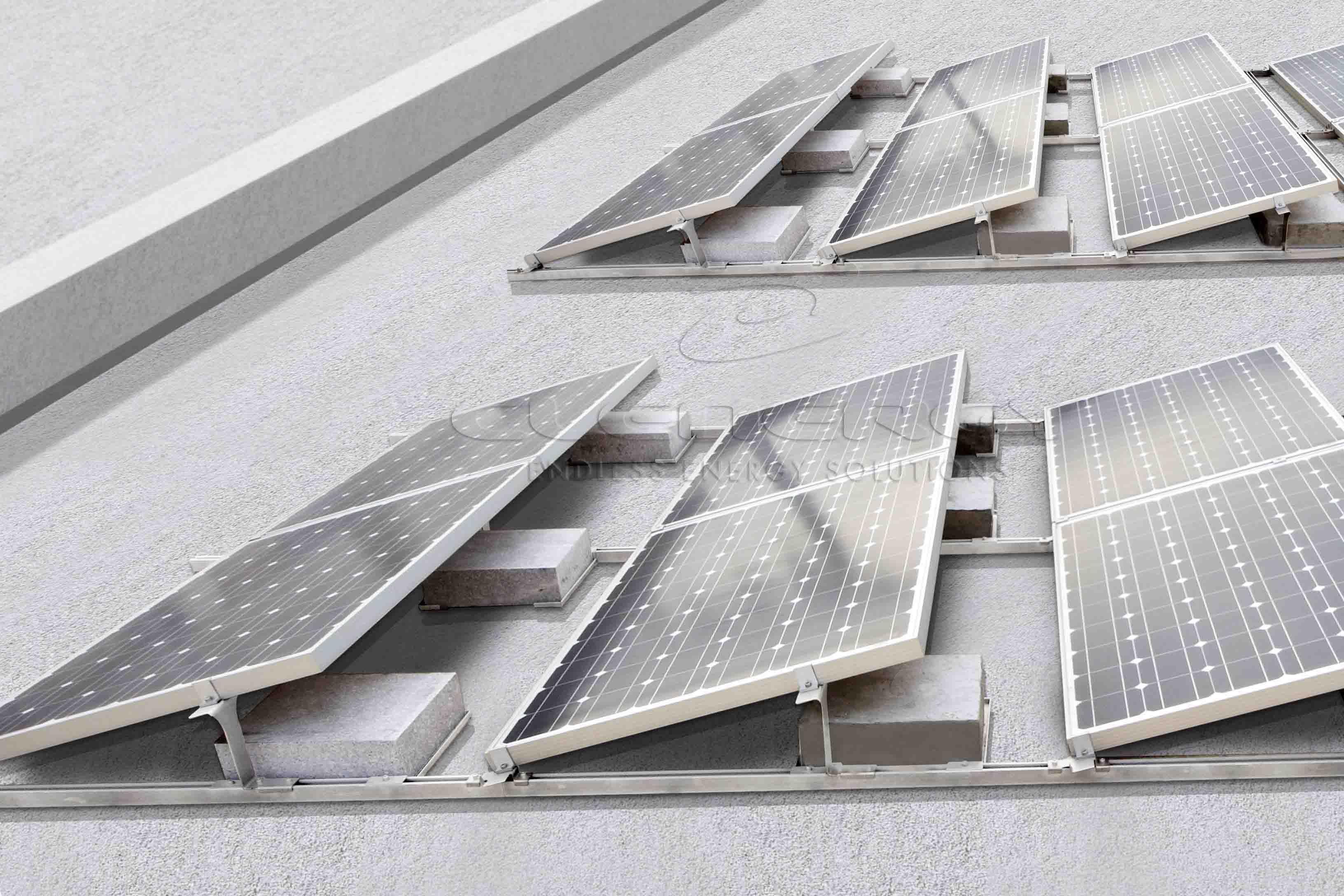 Hot Item Pv Ezrack Solarmatrix Flat Roof Mounting System Flat Roof Solar Panels Roof Flat Roof Systems
