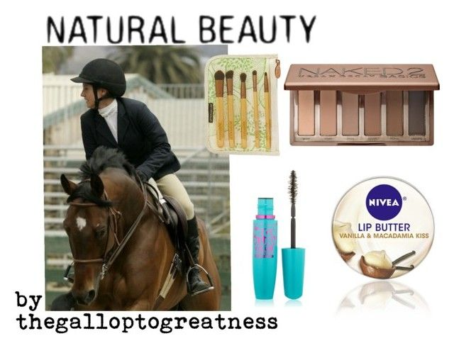 """""""Natural Beauty in the ring"""" by thegalloptogreatness on Polyvore featuring beauty, Nivea, Urban Decay and Maybelline"""