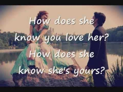 Compel You Lyrics Does Love Her How She Know well-deserved reason joy