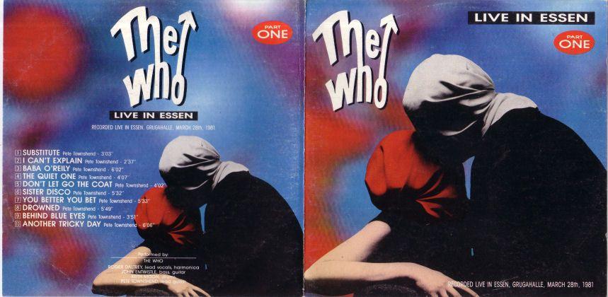 Live in Essen Part 1 Essen, Germany March 28, 1981 Soundboard
