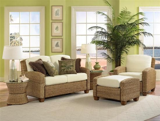 Image Detail For  Livingroom Seating Tropical Living Room Lovely Interior  Decoration