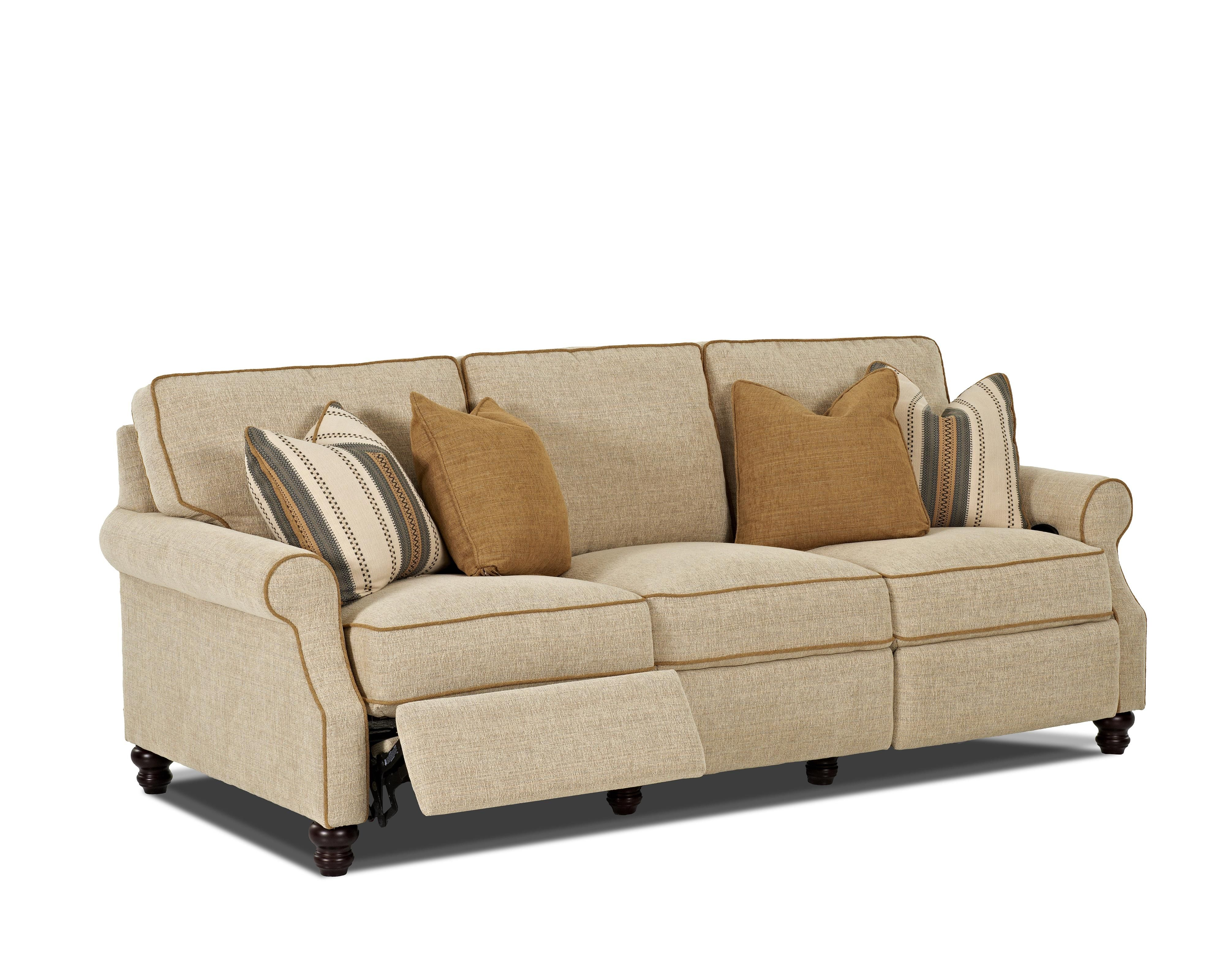 Tricia Power Hybrid Reclining Sofa