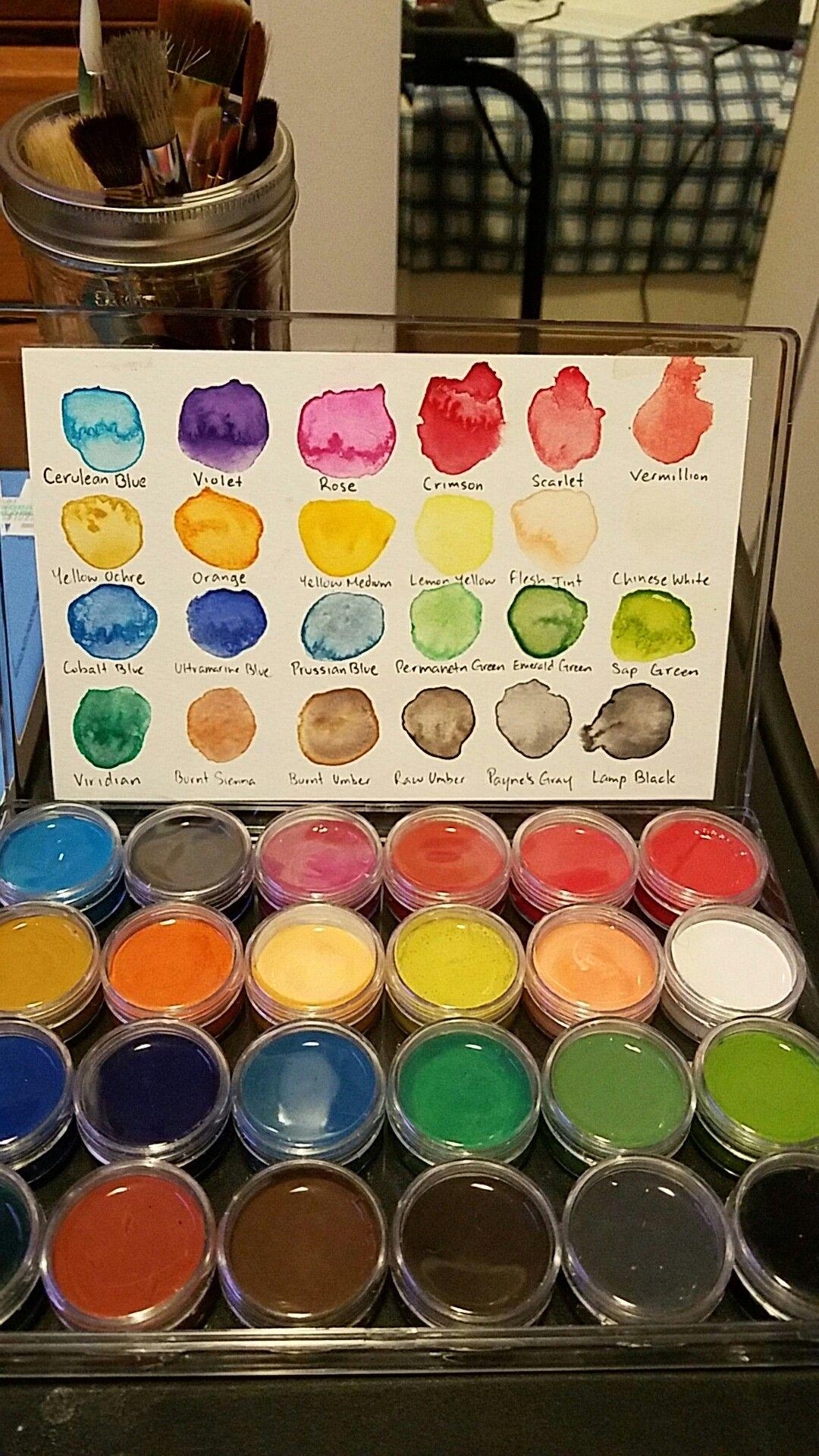 Arts Crafts Sewing Watercolor Paint Set Paint Set Watercolor