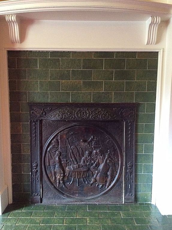 From 1875 Italianate In Greencastle In Greencastle Fireplace