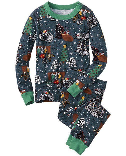 c34cff11ea Star Wars™ Long John Pajamas In Organic Cotton from  HannaAndersson ...