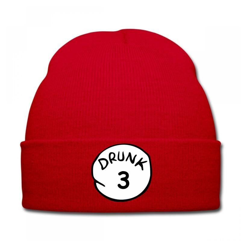 drunk 3 Knit Cap