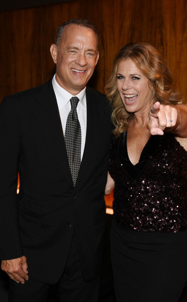 Tom Hanks & Rita Wilson from The Big Picture: Today's Hot Pics  The happy…