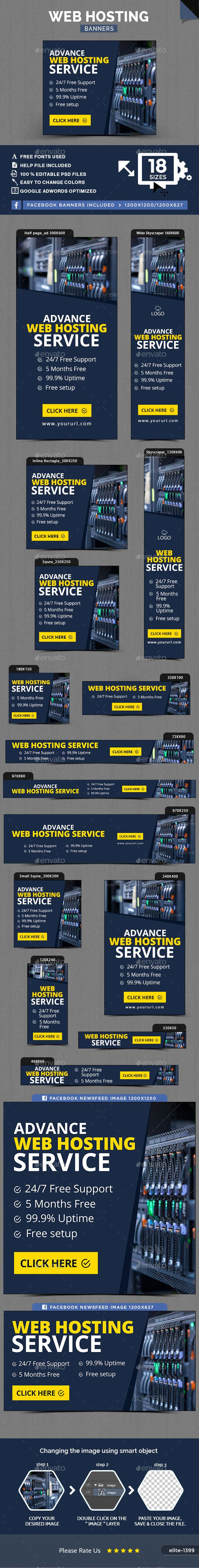 Web Hosting Banners Template Psd Download Here Strony