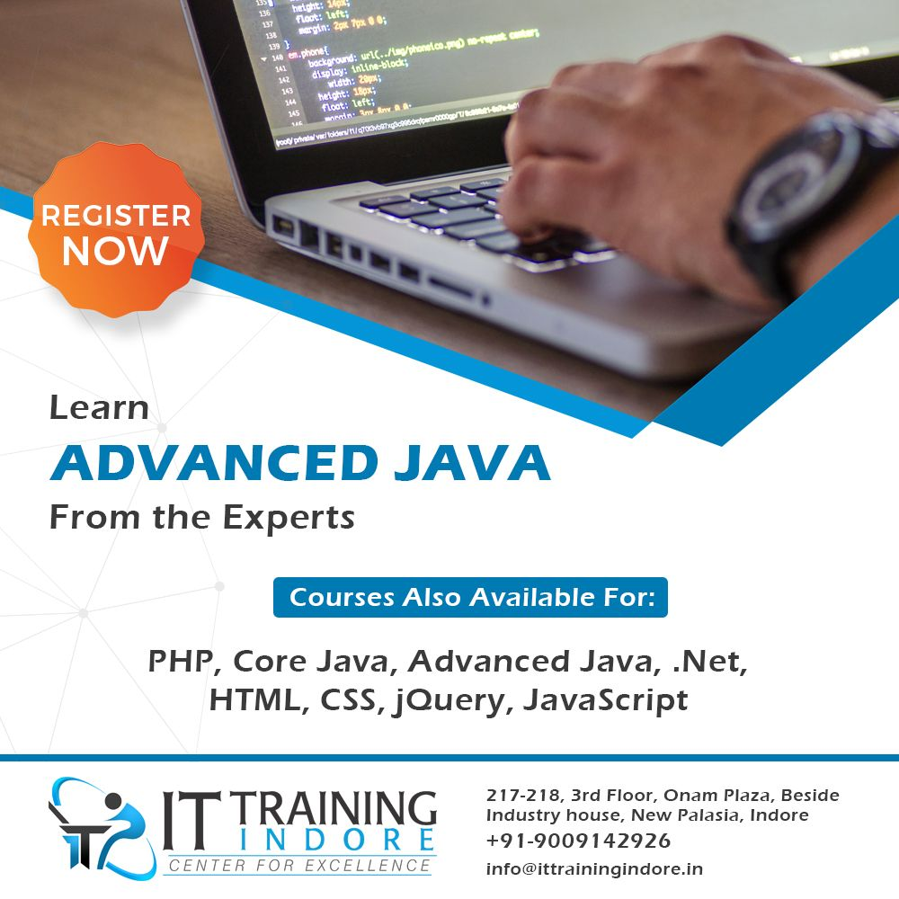 Have You Got Your Advance Java Training From It Experts Or