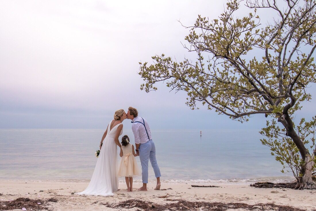 Elope in the keys bring the kids and tie the knot on the