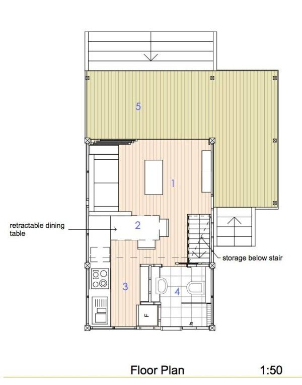 200 Sq Ft Pavilion Tiny House Tiny House Loft Tiny House Plans House Plans