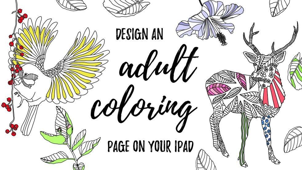 Liz Kohler Brown Ipad Art Design Tutorials Inspiration