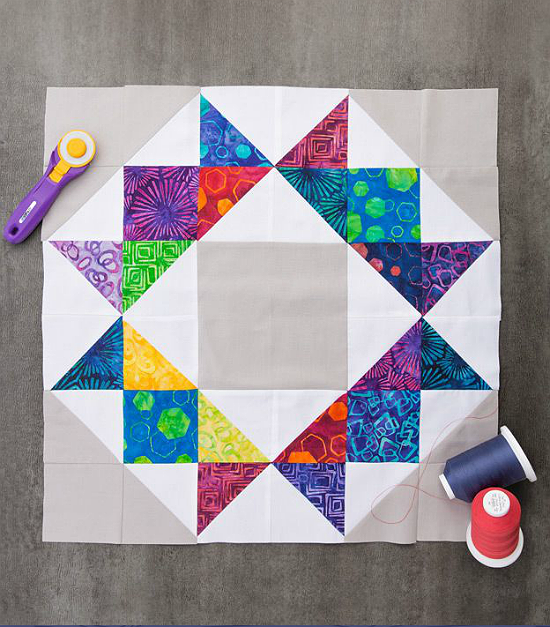 One Block Makes a Lovely Table or Wall Quilt - Quilting Digest