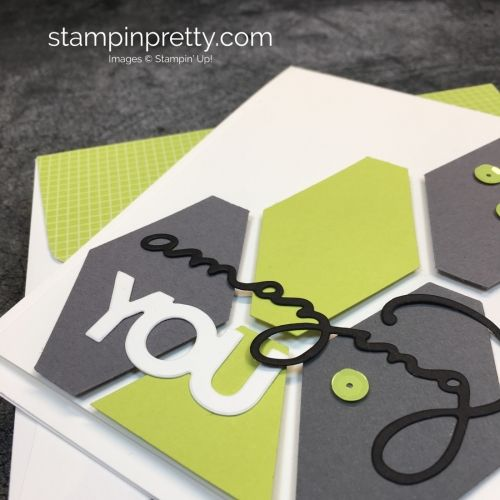 Learn How To Create This Simple Birthday Card Using Stampin Up