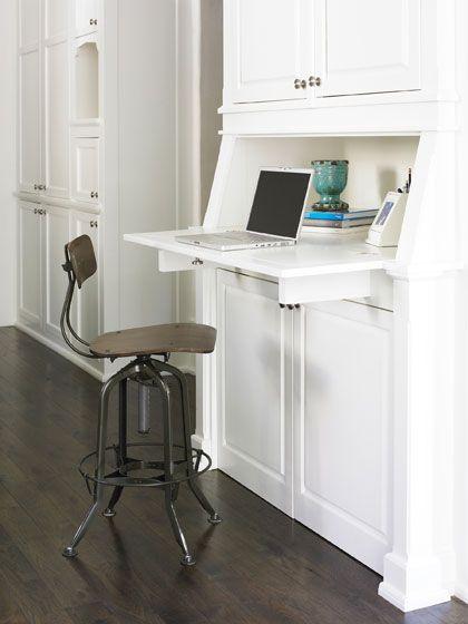 Mike Hammersmith Inc Atlanta Custom Builder Kitchen Office Spaces Kitchen Desks Kitchen Desk Areas