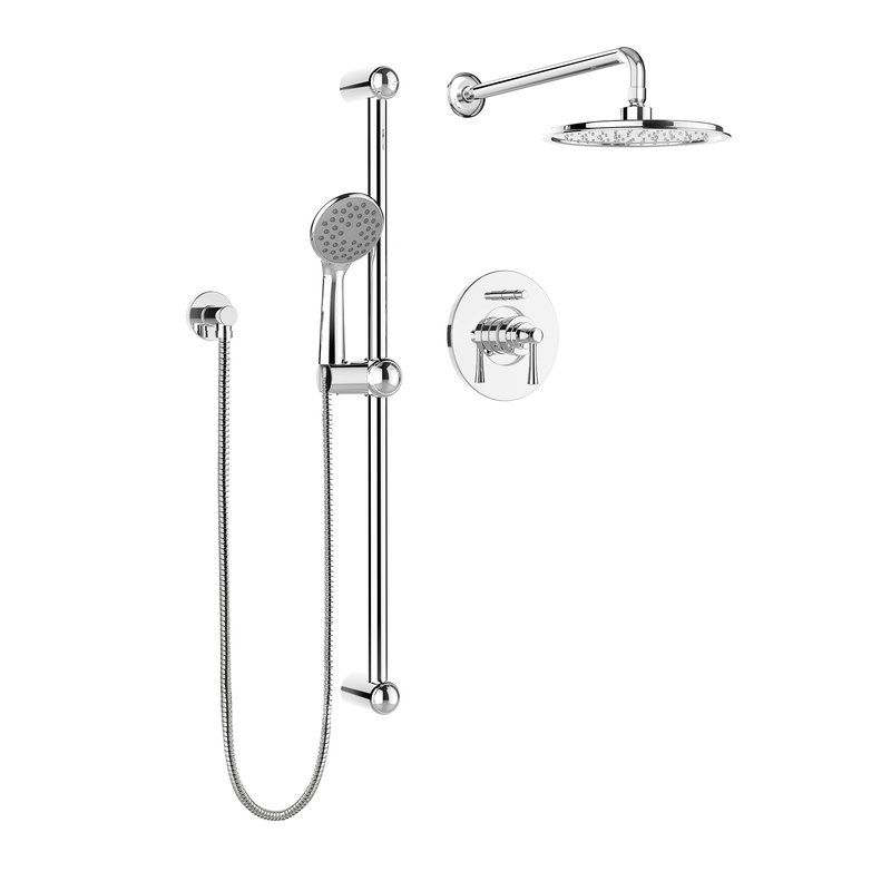Belanger Pressure Balanced Complete Shower System With Rough In