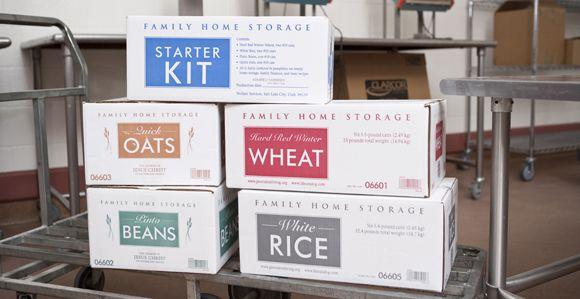 Mormon Food Storage Endearing Lds Food Storage Centers Offer Prepackaged Longterm Food Storage Inspiration Design