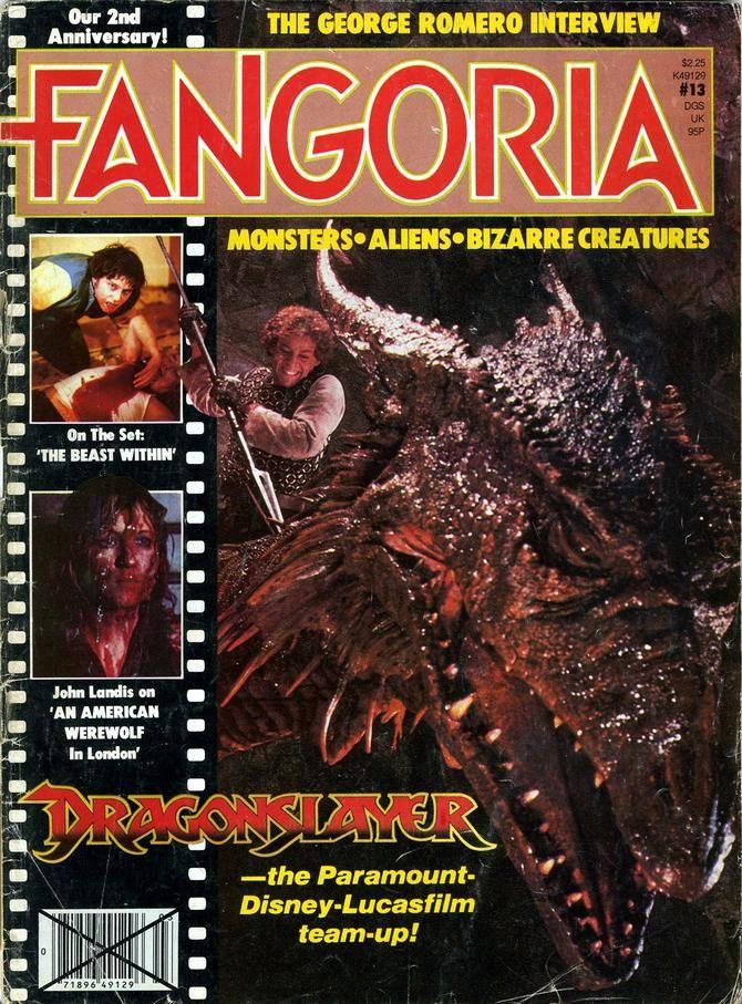 Fangoria issue 13 Vintage horror, Horror, American