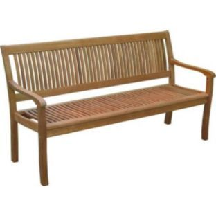 buy royalcraft windsor 3 seater bench brown at argos co uk your rh pinterest co uk