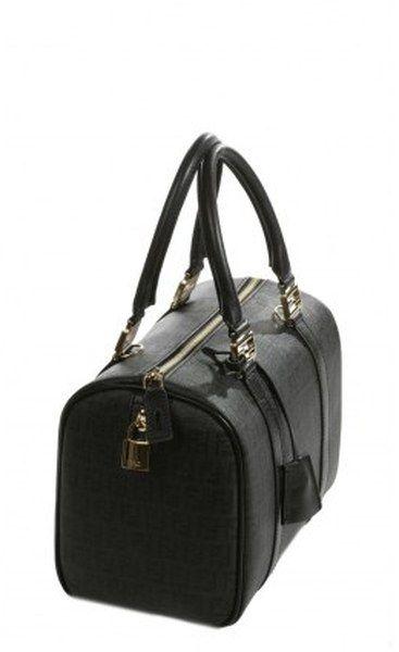 3878c99c4f19 Black · Forever Medium Bowling Bag Shiny Zucchino