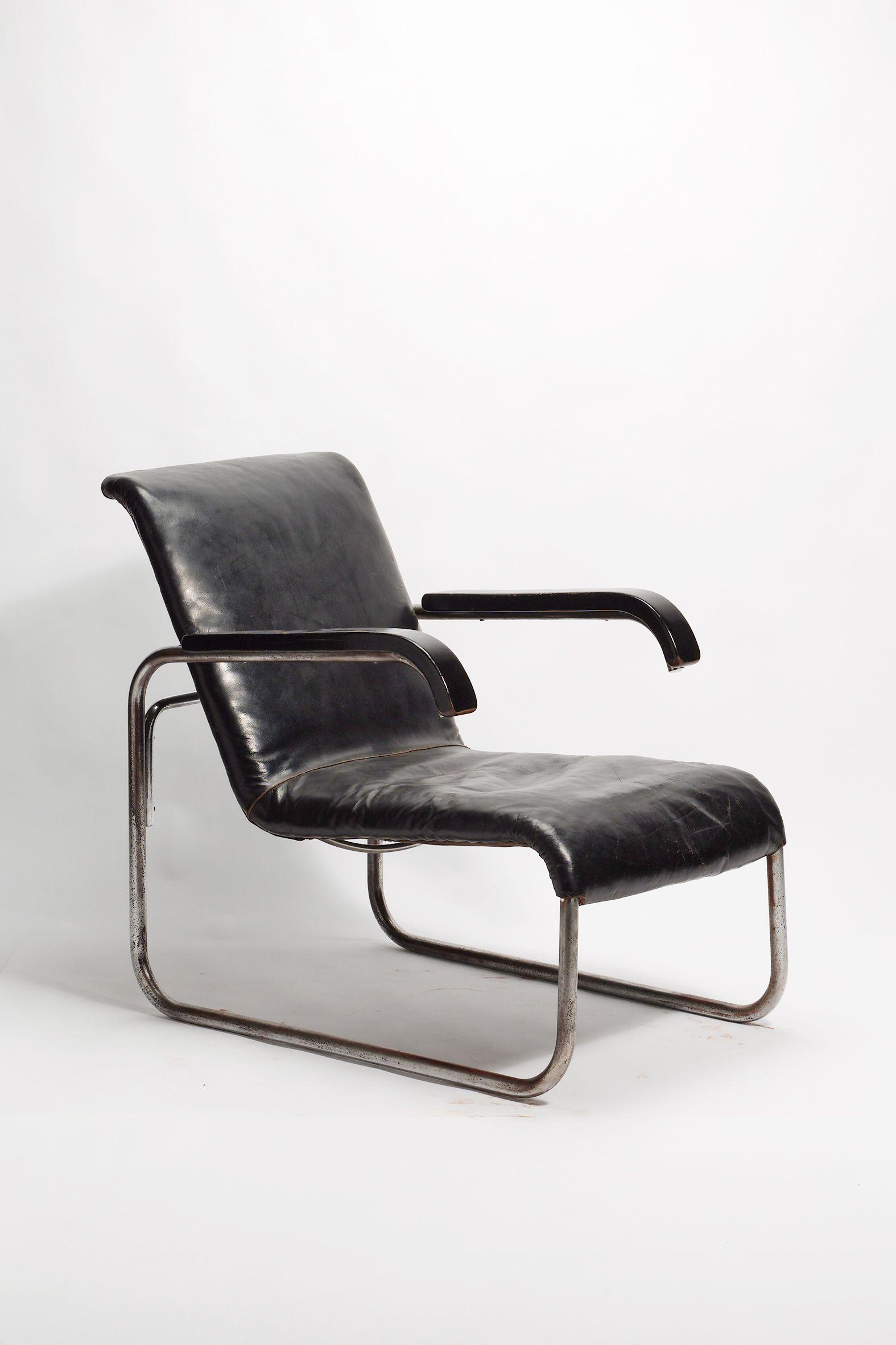 Bauhaus chair breuer - Armlehnstuhl B35 Marcel Breuer 1929 Chair