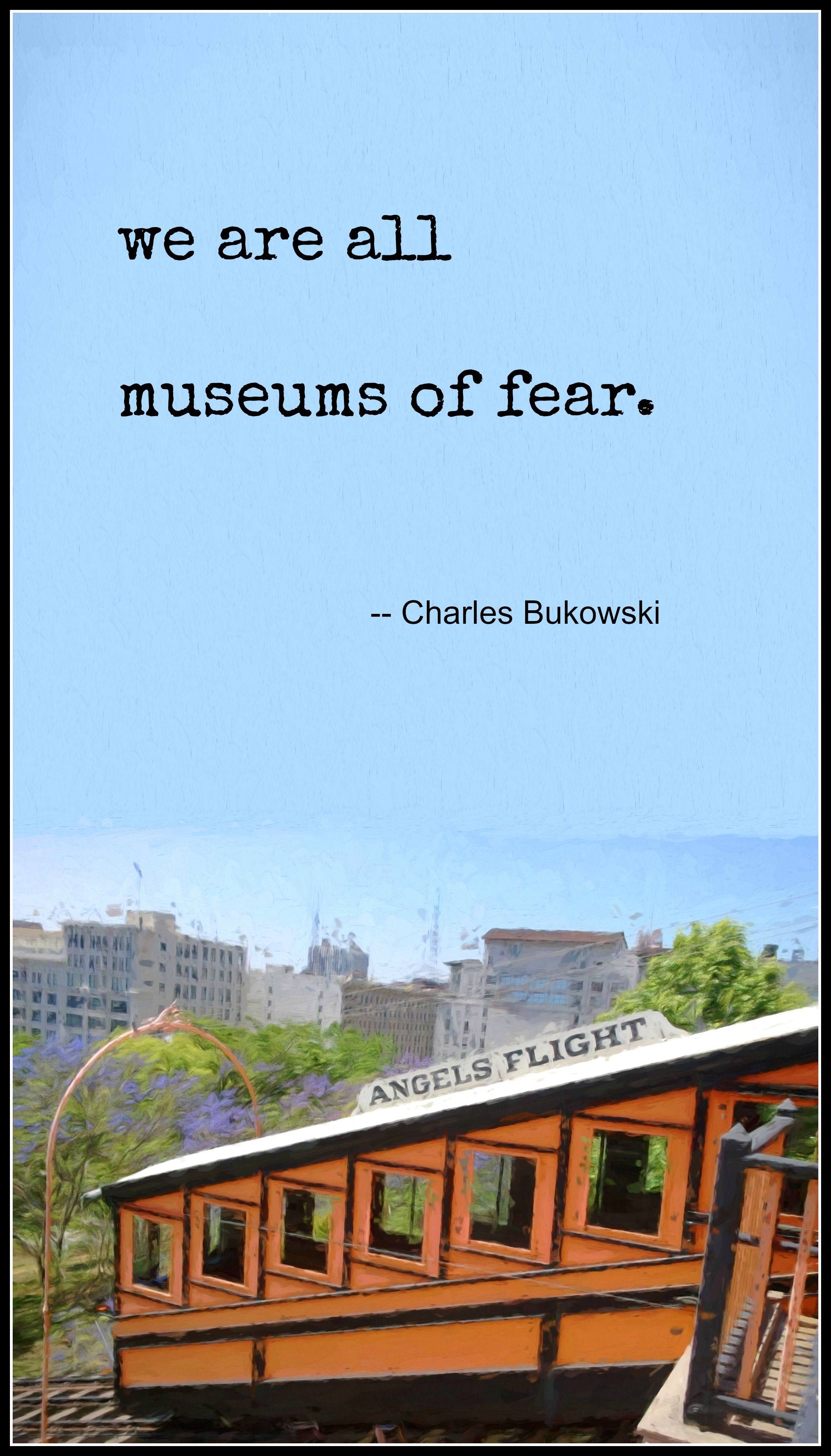 Charles Bukowski Boring Life Quote Poet Novelist Short Story Writer Poster Photo
