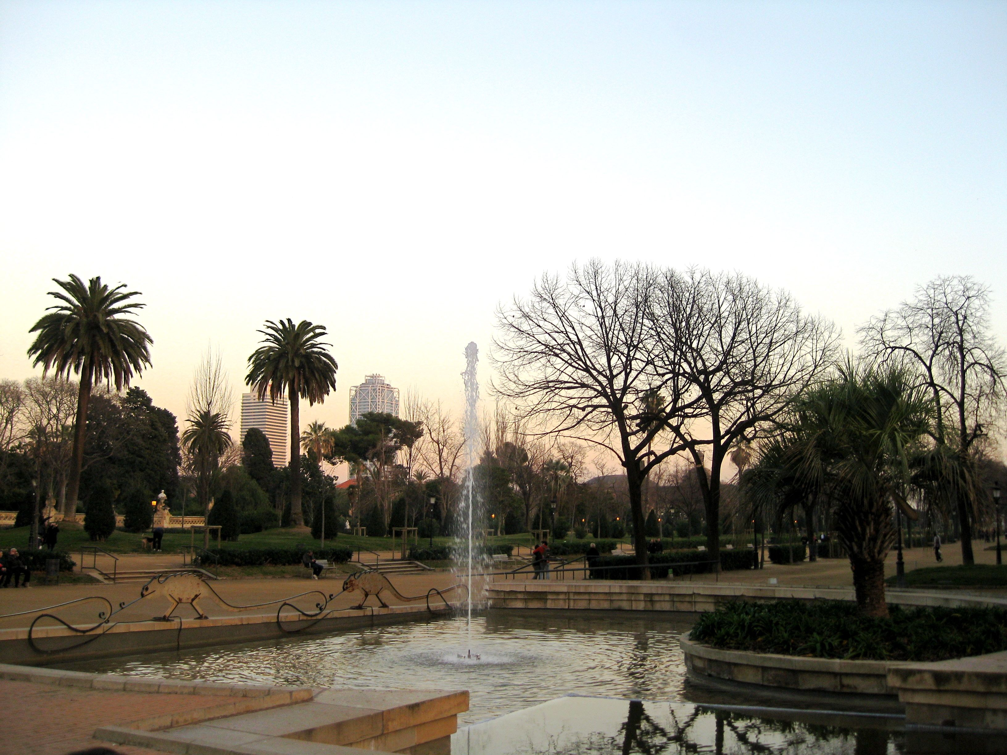 Parc de la Ciutadella, el Born de Rachel