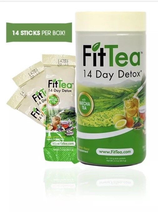 Fit Tea Sticks 14 Day Detox NON GMO #FitTea