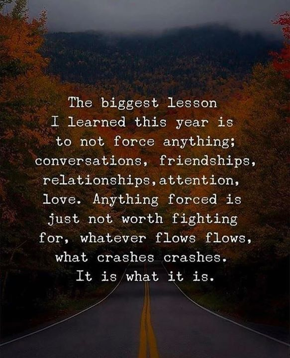 Inspirational Positive Quotes :The biggest lesson I learned this year..