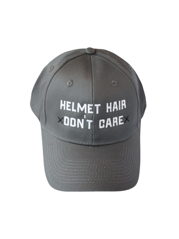 377a82f272dd2 for the trendy equestrian ◎ Spiced Equestrian helmet hair dont care hat in  charcoal.