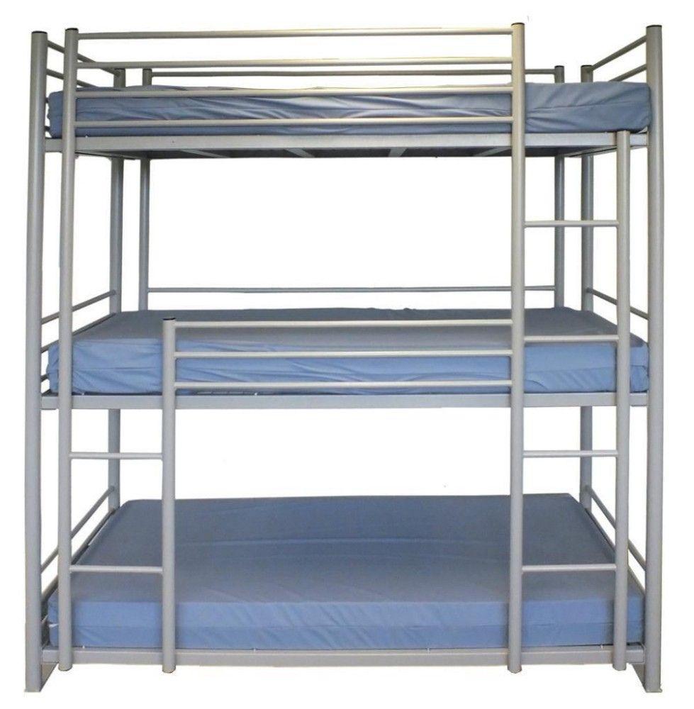 Triple Metal Bunk Bed Top Rated Interior Paint Check More At Http Billiepiperfan Com Triple Metal Bunk Bed