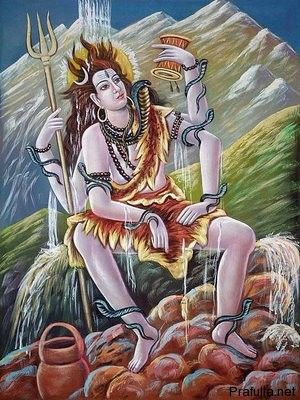 Lingashtakam stotram, लिङ्गाष्टकं स्तोत्रम्.