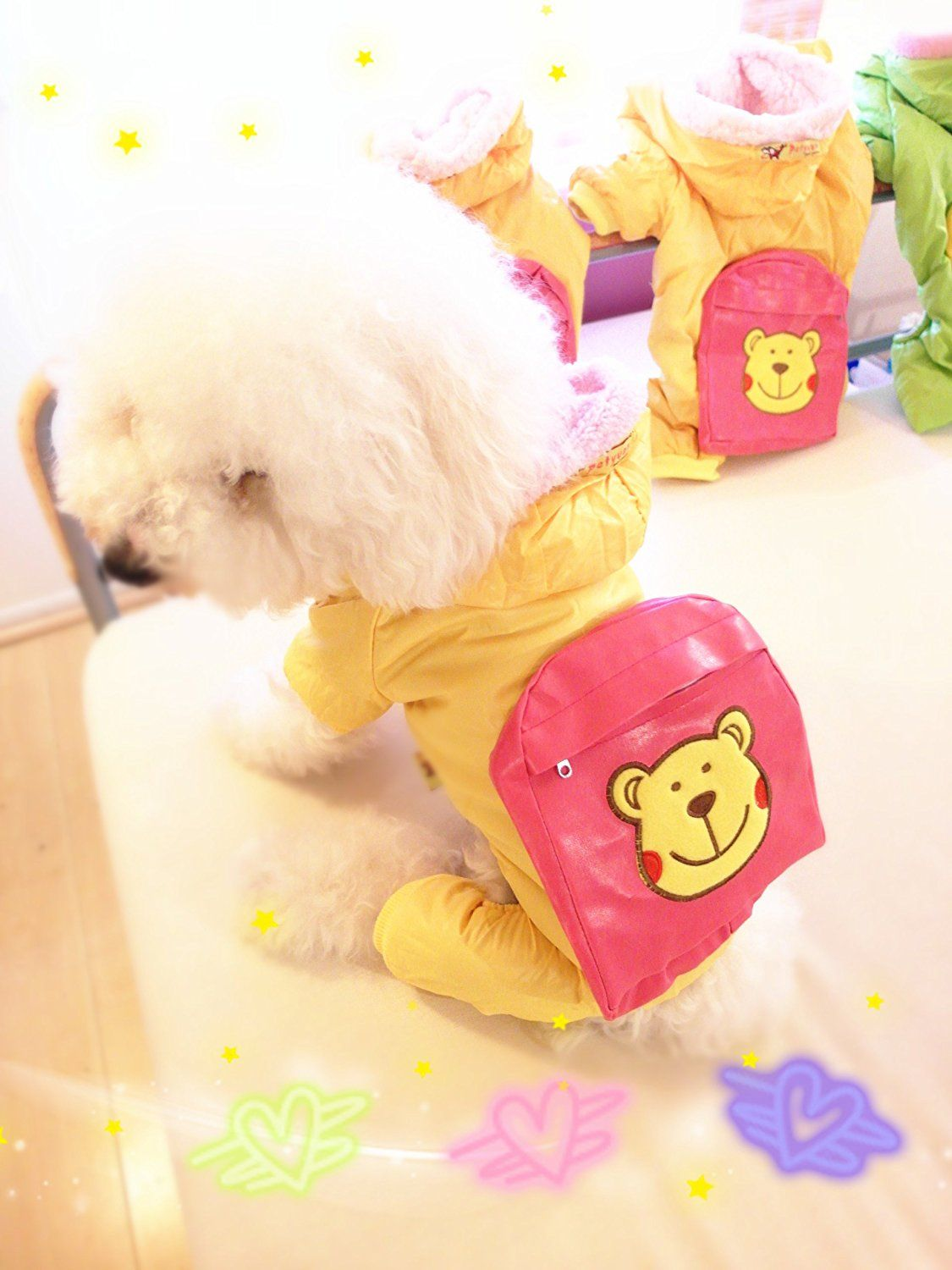 Froggie Dog Rain Coat Warm And Soft Green You Can Get Additional Details At The Image Link This Is An Affiliate Link With Images Small Dog Coats Dog Coats Dog Clothes