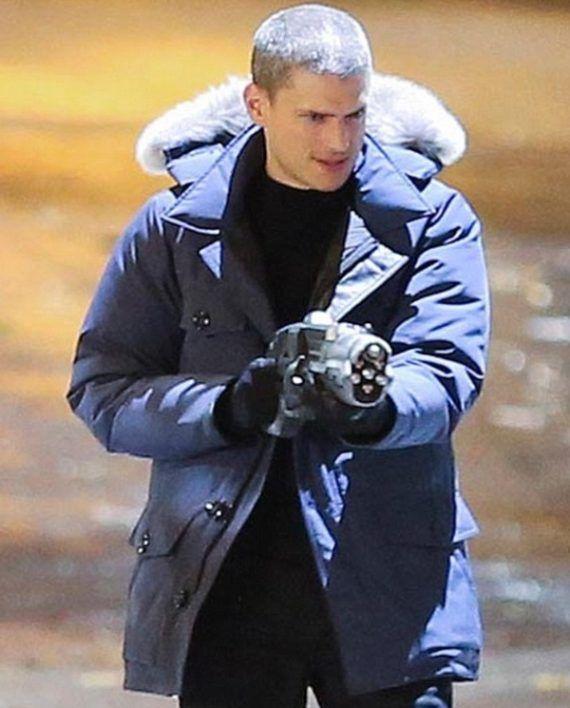 Details About Captain Cold The Flash Blue Jacket