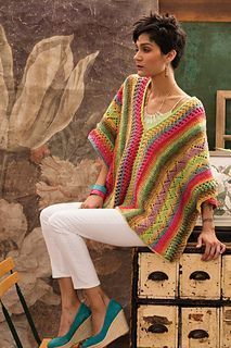 #2 Blanket Poncho pattern by Cheryl Murray #ponchos