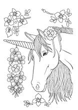 Ausmalbild Einhorn Fabelwesen Einhorner Unicorn Ausmalbilder Ausmalen Ausmalbilder Kinder