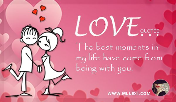 M.L. Lexi's Much Love Quote Of The Week Much love to you on this Friday.